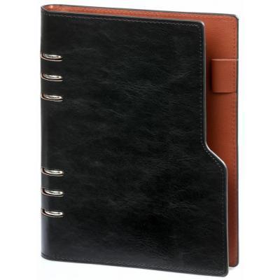 Kalpa Compact A5 organizer Pullup Zwart Schrijfblok