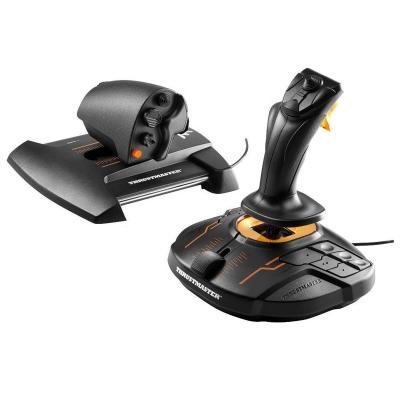 Thrustmaster game controller: T.16000M FCS Hotas - Zwart, Oranje