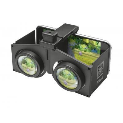 Trust virtual reality bril: UrbanRevolt - Zwart