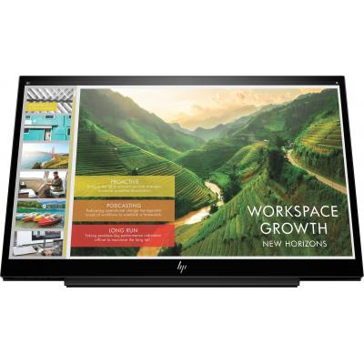 HP EliteDisplay S14 Monitor - Zwart