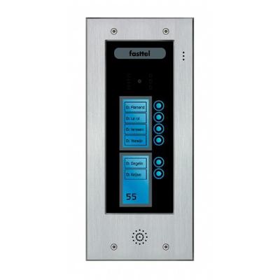 Fasttel deurbel: Wizard Elite FT2506 - Zwart, Grijs