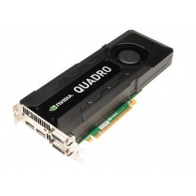 Lenovo videokaart: Nvidia Quadro K5000 - 4GB GDDR5, 3840x2160, 173 GB/s, PCIe x16, 2x DP, DVI-I, DVI-D, Multi - .....