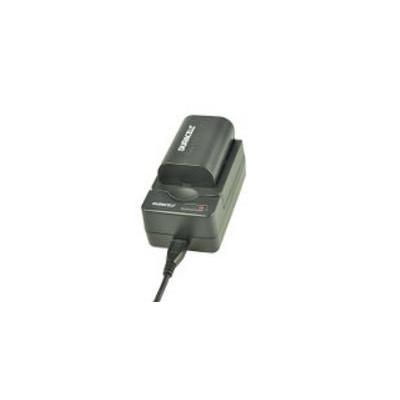 Duracell oplader: USB, 5V, Replacement f/ Pentax D-LI109 - Zwart