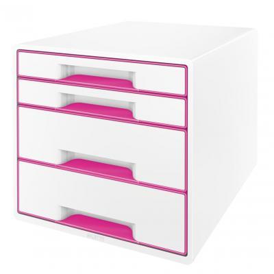 Leitz bureaulade: WOW Ladenblok - Metallic, Roze