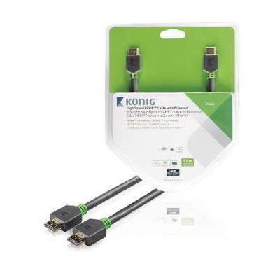 König HDMI kabel: KNV34000E75 - Antraciet