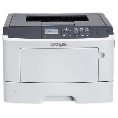 Lexmark laserprinter: MS415dn + 4 jaar garantie na registratie - Zwart