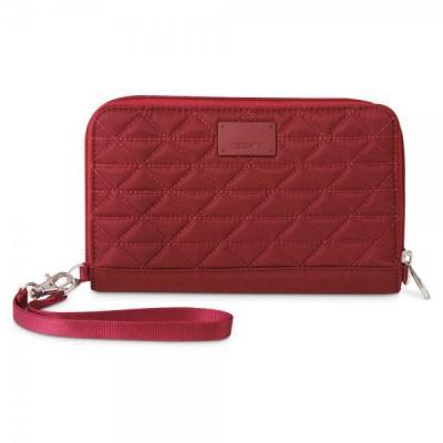 Pacsafe portemonnee: RFIDsafe W200 - Rood