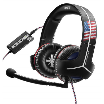 Thrustmaster Y-350CPX 7.1 Powered Far Cry 5 Edition Headset - Zwart, Blauw, Rood, Wit