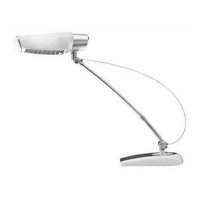Hansa tafellamp: BUR.LAMP ARCOST WIT ENERGIE L.