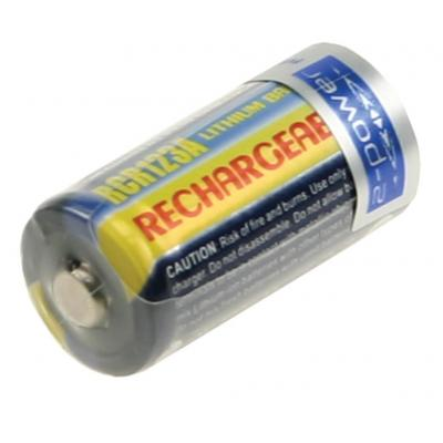 2-Power Camera Battery 3v 500mAh (Rechargeable) - Grijs
