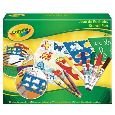 Crayola : knutselpakket - Sjablonen - Multi kleuren