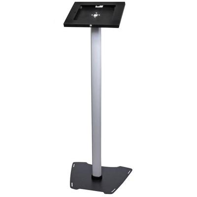StarTech.com Vergrendelbare iPad standaard Multimedia kar & stand - Zwart,Zilver
