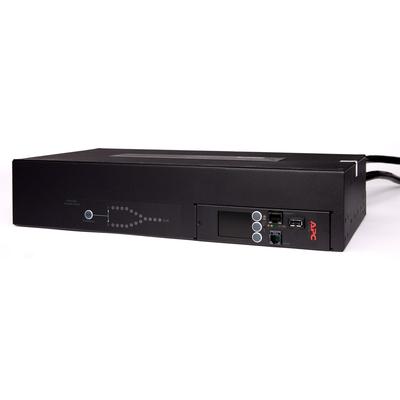 APC Automatic Transfer Switch, (16x) C13 + (2x) C19, 7680W, Rack mountable - Zwart
