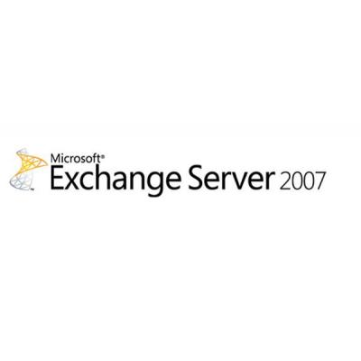 Microsoft Exchange Server 2007 Entrprise, Sngl, L/SA, OLV-NL, 3Y Acq Y1, AP Software