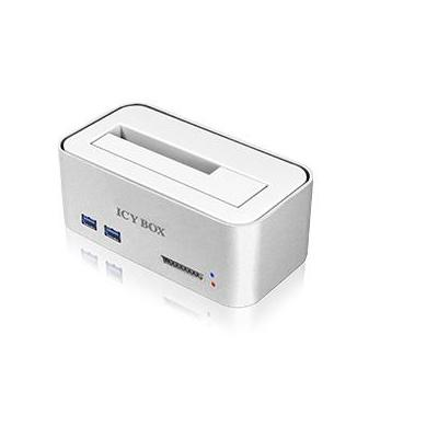 Icy box HDD/SSD docking station: IB-111HCR-U3 - Zilver