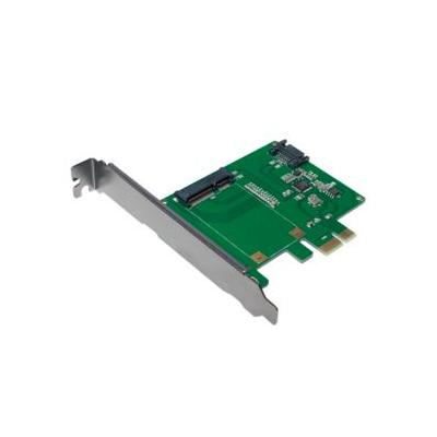 LogiLink PC0077 - PCI-Express Card, 1x mSATA SSD + 1x SATA HDD Interfaceadapter