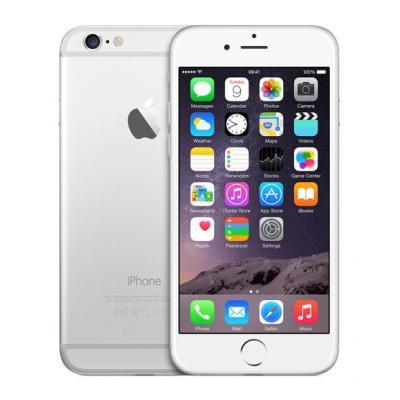 Apple smartphone: 6 16GB Silver | Zichtbaar gebruikt - Zilver (Refurbished LG)