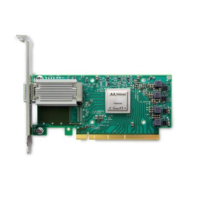 Mellanox Technologies ConnectX-5, 50GbE, 1x QSFP28, PCIe3.0 x16 Netwerkkaart