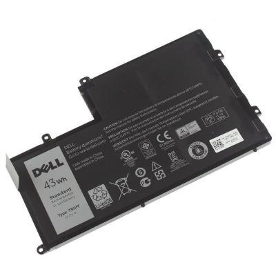Dell batterij: 43Wh, 3-cell, Li-Ion, 11.1V, 3800mAh, Inspiron 5547/5542/5542 - Zwart