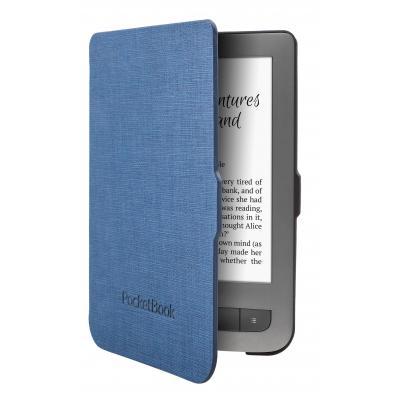 Pocketbook e-book reader case: JPB626(2)-BM-P - Zwart, Blauw