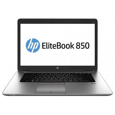 HP laptop: EliteBook 850 G2, Windows 10 - Zilver