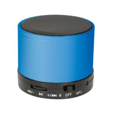 LogiLink 3 W, 280 – 16000 Hz, 95 dB, Bluetooth, 400 mAh, 186 g Draagbare luidspreker - Zwart,Blauw