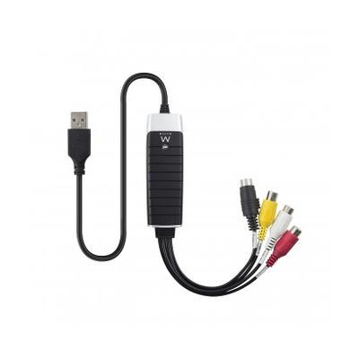 Ewent EW3706 Kabel adapter - Zwart, Grijs, Rood, Wit, Geel