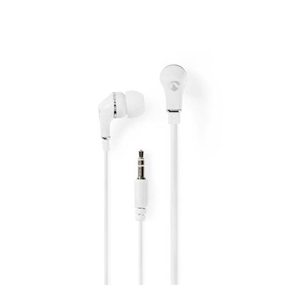 Nedis HPWD1002WT Headset - Wit, Zilver