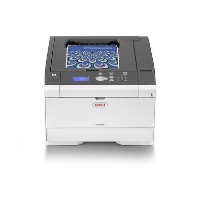 OKI C532dn laserprinter - Zwart, Cyaan, Magenta, Geel