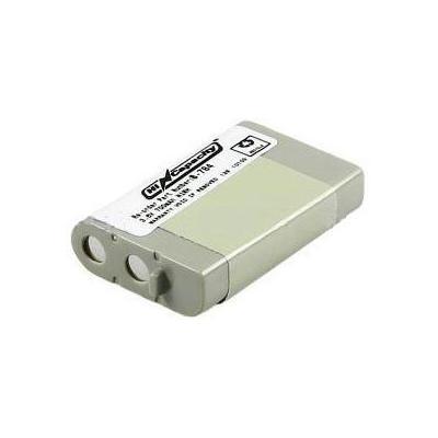 2-power batterij: Battery for Panasonic HHR-P103, 3.6V, NiMh - Grijs
