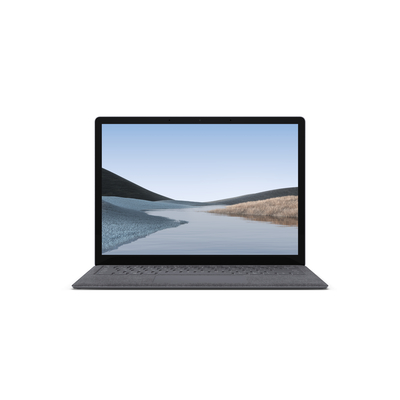 "Microsoft Surface Laptop 3 13.5"" i5 8GB 256GB Platinum/Alcantara - QWERTY Laptop - Platina"