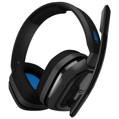 Logitech A10 Headset - Blauw, Grijs