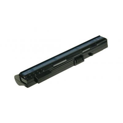 2-power batterij: 11.1V 5200mAh Li-Ion Laptop Battery - Zwart