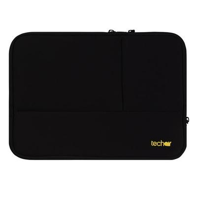 "Tech air 13.3"", 335 x 234 x 40, Neoprene/Textured polyester, Faux fur lining, Case protection, Black Laptoptas"