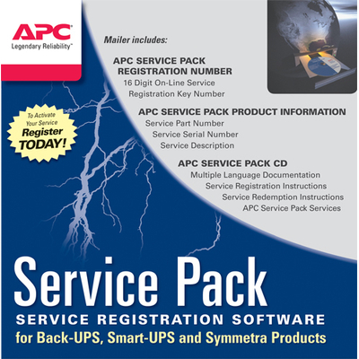 APC WBEXTWAR1YR-SP-08 garantie