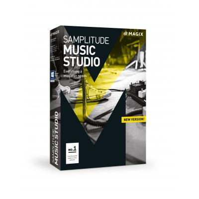 Magix audio software: Magix, Samplitude Music Studio