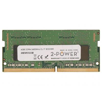 2-Power 4GB DDR4 2400MHz CL17 SODIMM Memory RAM-geheugen