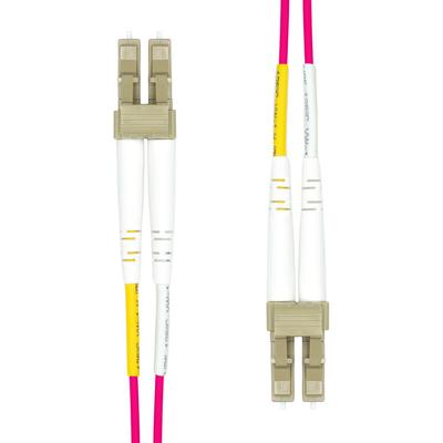 ProXtend LC-LC UPC OM4 Duplex MM Fiber Cable 1M Fiber optic kabel - Violet
