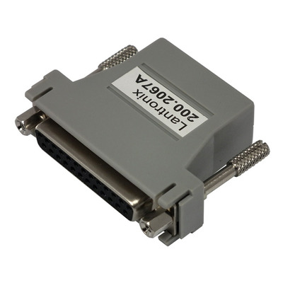 Lantronix RJ45 to DB25F DCE Adapter for SLC, EDSxPR, EDSxPS, for connection to a DB25M DTE Kabel adapter - .....