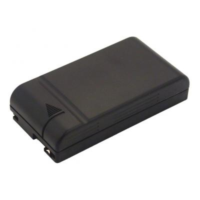 2-Power Camcorder Battery 6v 2100mAh - Zwart