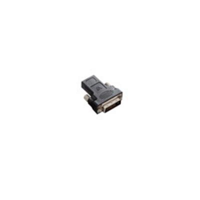 V7 Black Video Adapter DVI-D Male to HDMI Female Kabel adapter - Zwart