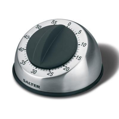 Salter : 60 min, 96 x 96 x 62 mm - Zwart, Roestvrijstaal