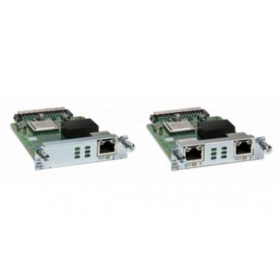 Cisco 2-port BRI (NT and TE) NIM Voice network module