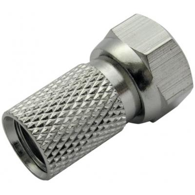 Schwaiger coaxconnector: FST7510 241 - Zilver
