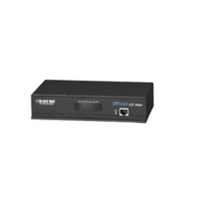 Black Box ServSwitch CX Uno KVM switch - Zwart