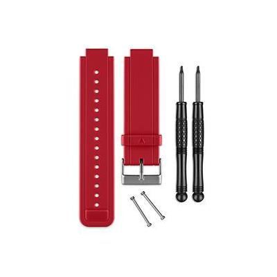 Garmin horloge-band: Siliconen banden voor vivoactive, Rood