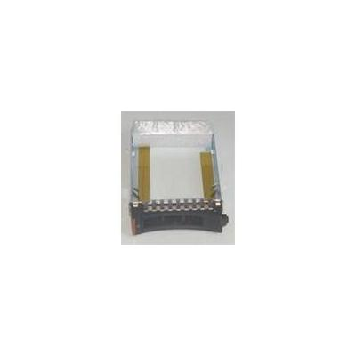 "Microstorage rack toebehoren: 6.35 cm (2.5 "") IBM SFF Tray SAS/SATA/SSD  - Zwart, Bruin"