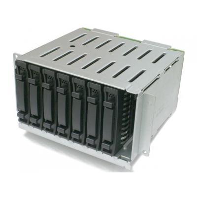 Ibm 16 to 24 2.5-inch SFF Hot-Swap SAS/SATA HDD Upgrade Kit behuizing - Zwart, Roestvrijstaal