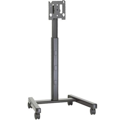 "Chief Medium Flat Panel Mobile AV Cart, 32 - 65"", 56.7 Kg max, Black Montagehaak - Zwart"