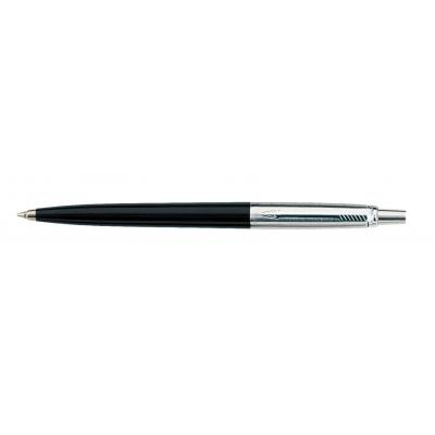 Parker pen: Jotter - Zwart, Roestvrijstaal